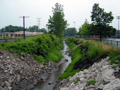 Toledo, Ohio - Ditch Stabilization - July 4, 2003