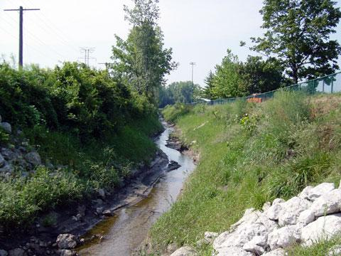 Toledo, Ohio - Ditch Stabilization - August 25, 2003